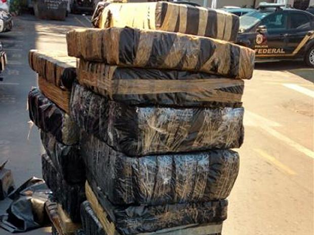 drogas em caminhão